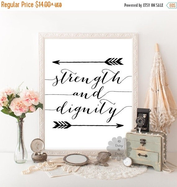 Stength And Dignity: Strength And Dignity Proverbs 31:25 Bible Verse By