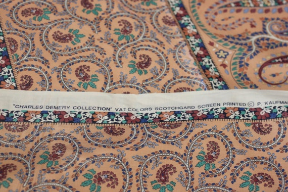 Fabric Charles Demery Coll Paisley Vintage Chintz Cotton