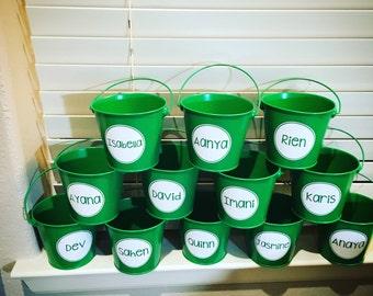 Personalized Bucket Pail