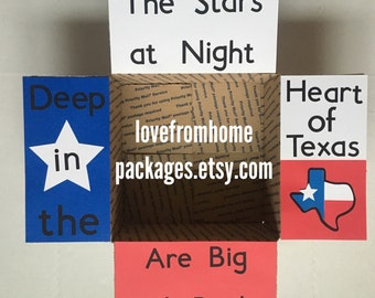 Texas Pride Military Care Package Flaps