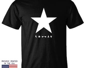 David Bowie Blackstar Tribute white star Ttd2