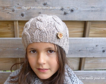 Twisted hat (gray)