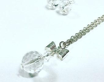 """The Elegant"" Crystal Necklace"
