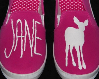 Life is Strange Jane Doe Max Caulfield Inspired Custom Shoes (Woman's Size 8)