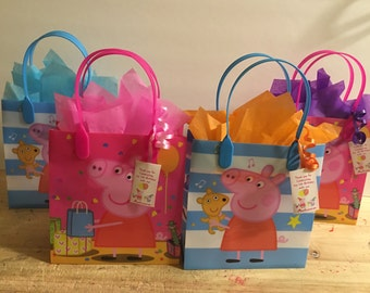 Peppa pig party bags (20)