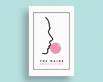 The Maine - American Candy | Screen Printed Poster