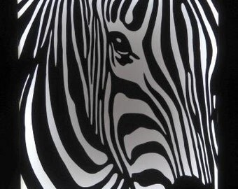 "Light box ""Zebra"""
