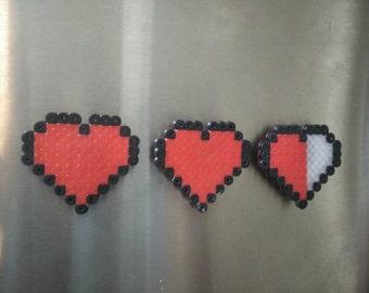 8 bit heart magnet
