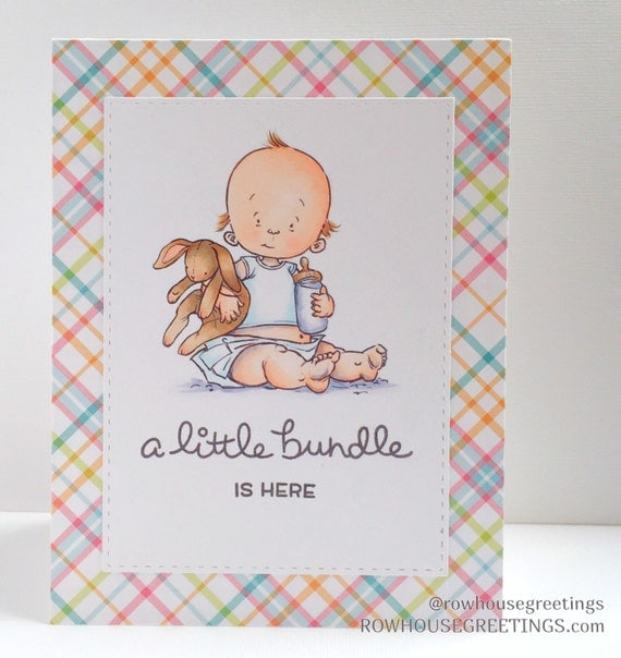 Baby Gifts For Either Gender : New baby card shower congratulations
