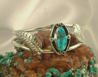 Turquoise Sterling Bracelet