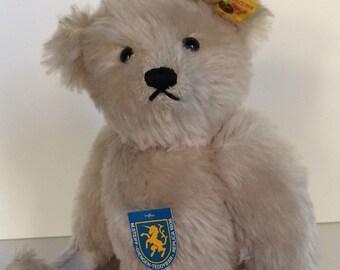 """Vintage Mohair Steiff 14"""" Teddy Bear"""
