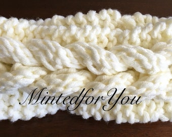 Knitted Braid Headband