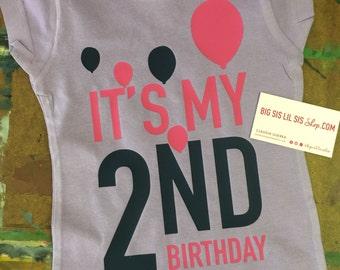 Go Shorty Its Your 4th Birthday >> My second birthday   Etsy
