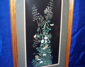 Framed Handpainted Picture by Mitchell