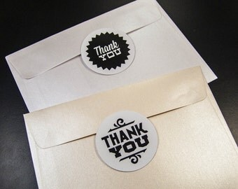 9 sticker set thank you stickers 50 mm