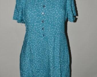 Plus size vintage romper/ Plus size romper/ Plus size jumpsuit/ Size 24