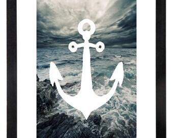 Storm Anchor Print