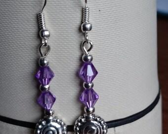 Purple Swarowski style