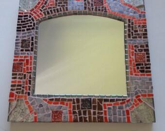 Mosaic mirror nr. 296