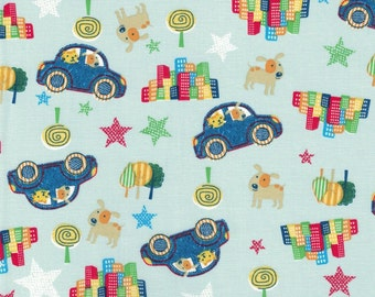 City Dogs & Cats- Urban Zoo Collection by Galaxy Fabrics - 100% Cotton Fabric