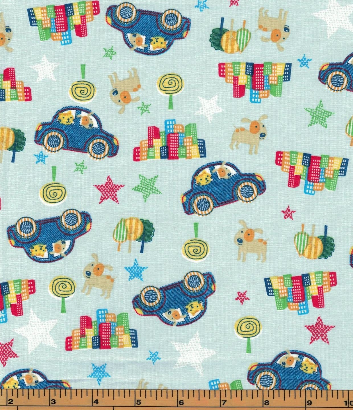 City dogs cats urban zoo collection by galaxy fabrics for Galaxy fabric canada
