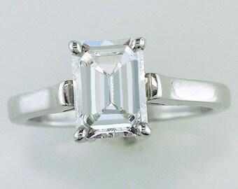 Tiffany & Co. 1.22ct Diamond Platinum Engagement Ring