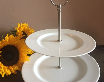 Fairmont & Main Artic 2 Tier Cake Stand