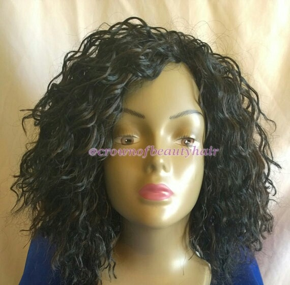 Spaghetti Curl, Hair, crochet, wig, cap, Secure, Fitting, Elasticated ...