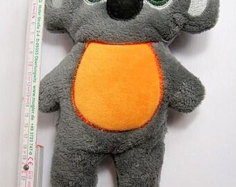 Lovingly sewn little koala bear stuffed animal, stuffed animal