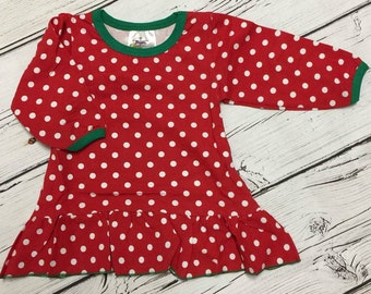 Monogram-able Childrens Toddler Infant Christmas Gowns