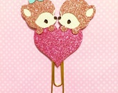 Rose Gold Double Foxy Love Paper Clip