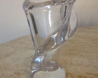 French Crystal Vase
