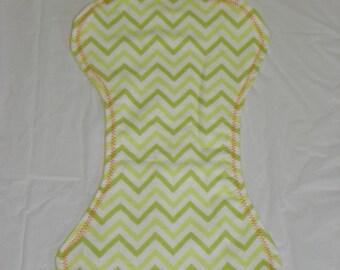 Reversible Neutral Flannel Baby Burp Cloths