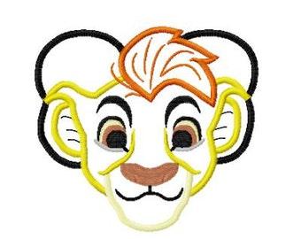 Character Lion Gaurd Embroidery Applique Design