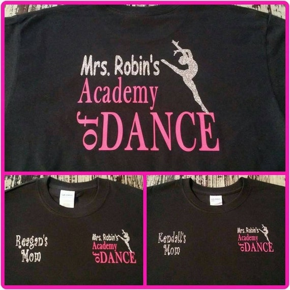 Mrs. Robin's Academy of Dance Tee Shirt-Long Sleeve