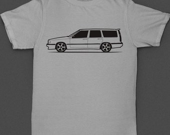 Volvo 850R Wagon Shirt with Pegasus Rims