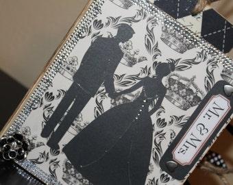 Mini File Folder Album - Wedding - Mr & Mrs