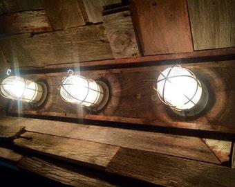 Unavailable listing on etsy for Beach house bathroom light fixtures