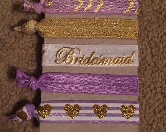 Bridesmaid Hair Ties