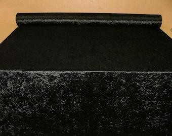black velvet fabric etsy. Black Bedroom Furniture Sets. Home Design Ideas
