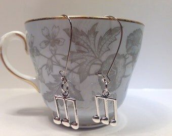 Earrings with Music Notes - Musical Note Earrings
