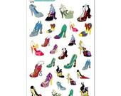 Villains & Princesses Heels Stickers