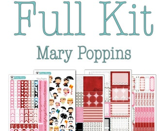 Mary Poppins Collection - Disney Planner Stickers