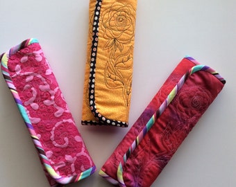 Quilted Seatbelt Wrap