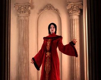 Queen Padme Amidala Costume Cosplay Star Wars FREE SHIPPING