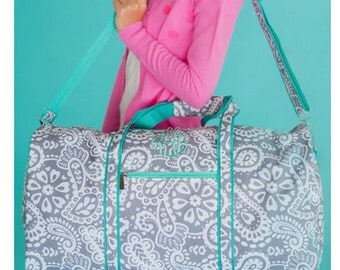 Monogram Parker Paisley Duffle Bag