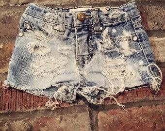 Custom Distressed shorts