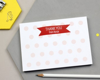 Children's Thank You | Thank You Notes For Children | Thank You Notepad | Children's Pad | Thank You Notes