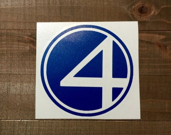 Marvel Fantastic 4 Decal