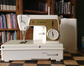 Toy Sewing Machine - Little Singer Touch and Sew